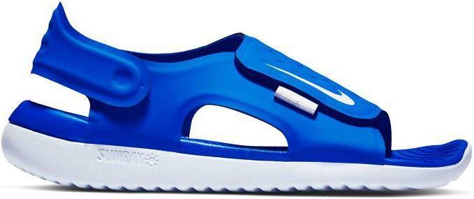 Nike Sunray Adjust 5 (GS/PS) waterschoenen blauw kids online kopen