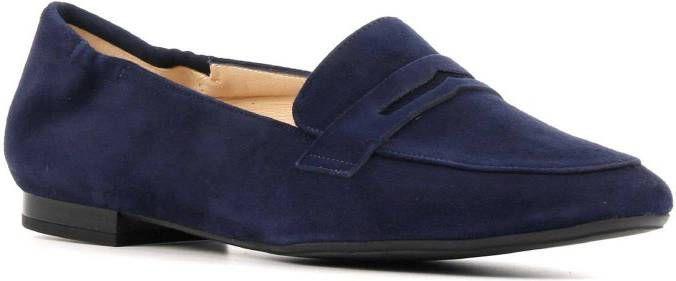 Peter Kaiser 44503 suède loafers blauw online kopen