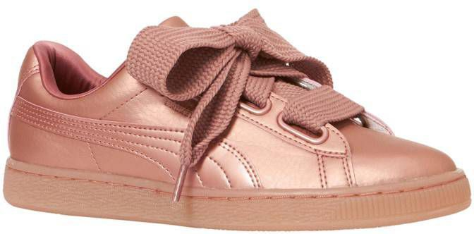 more photos c3d41 06a49 Lage Sneakers Puma Basket Heart Copper 365463-01