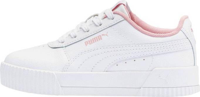 PUMA Carina sneakers wit/roze kinderen