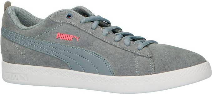 Puma Smash V2 Smash Wns v2 SD suède sneakers oudroze