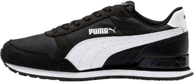Puma ST Runner v2 NL sneakers zwartwit Vindjeschoen.nl