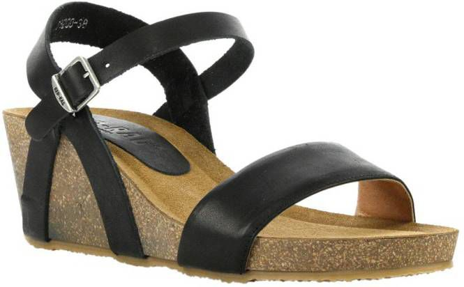 Red Rag leren sandalettes zwart online kopen