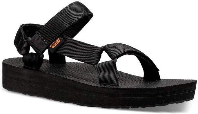 Teva Midform Universal Sandalen met dikke zool in zwart online kopen