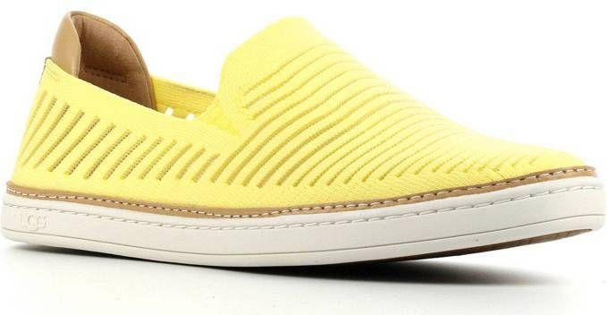 UGG Sammy Chevron II instappers geel online kopen