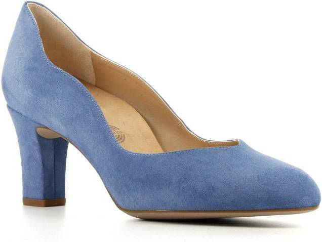 Unisa Moran suède pumps blauw online kopen