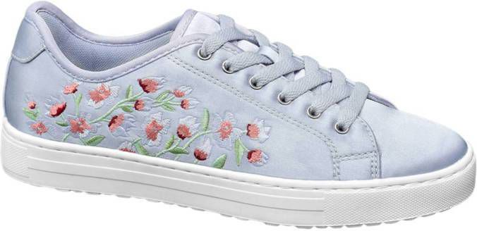 800c30f480f Paarse sneaker embroidery Graceland maat 36 - Frontrunner.nl